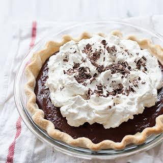 Chocolate Cream Pie No Egg Recipes.