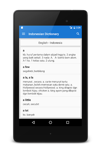 English - Indonesian Dictionary  screenshots 9