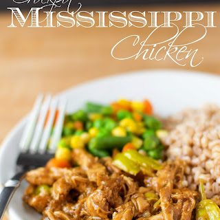 Crockpot Mississippi Chicken Recipe