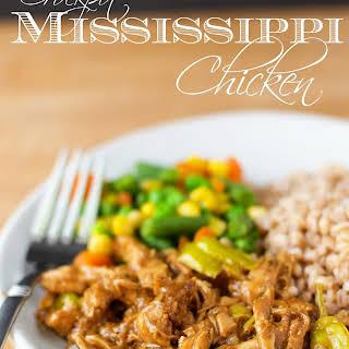 Crockpot Mississippi Chicken.