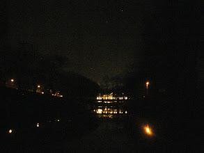 Photo: tu kończę a swiatła to Pałac Saturna. Za mną ponad 17 km.