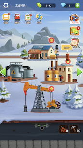 Idle Oil Empire Mod Apk (Unlimited Diamonds) 3