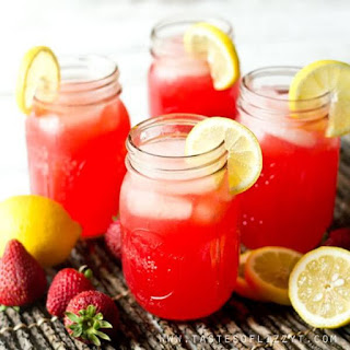 Sparkling Strawberry Punch.