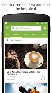 Download Groupon for Windows Phone apk screenshot 1