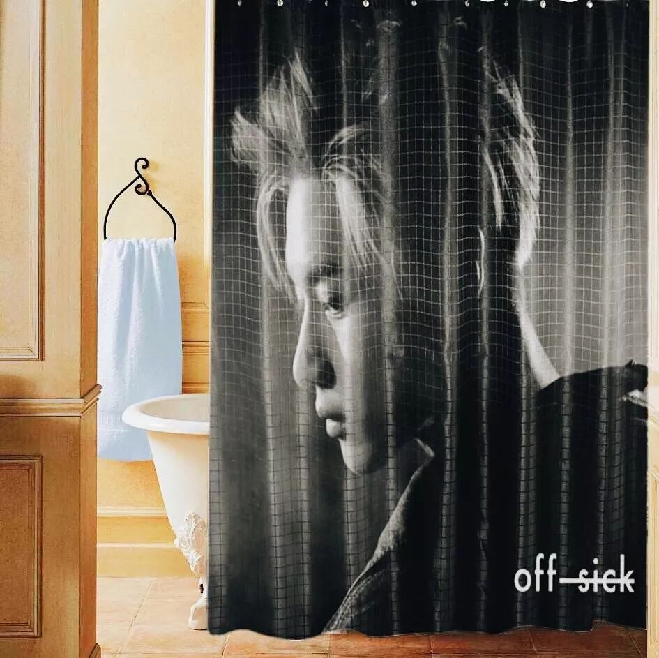 taemin shower curtain