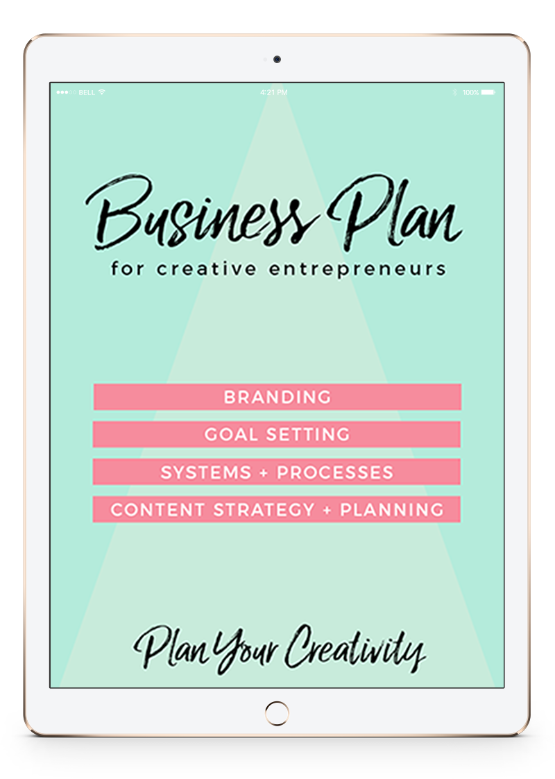 Free Creative Business Plan