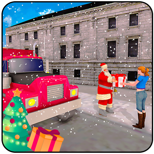 Baixar Santa Claus Christmas Gift Delivery Truck Game