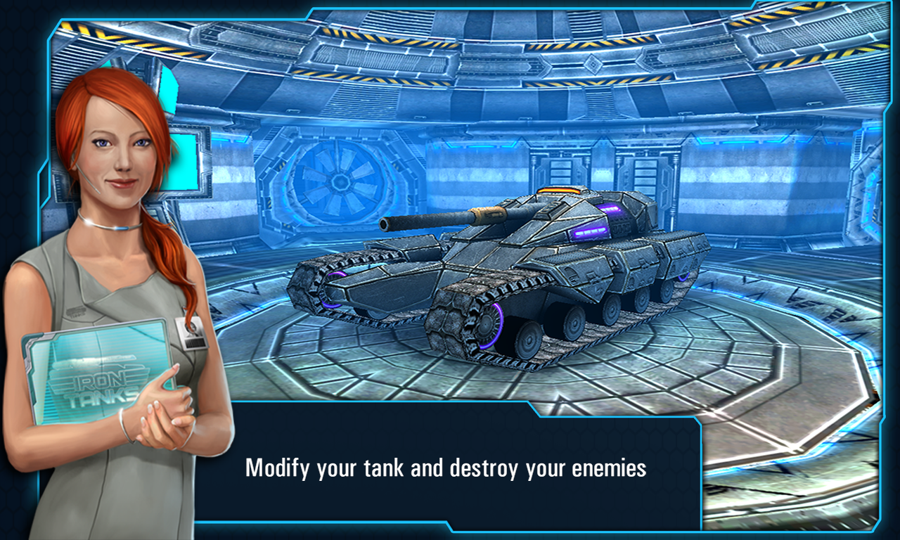 Iron Tanks- screenshot
