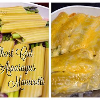 Short Cut Asparagus Manicotti.