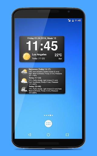 Weather widgets screenshot 3