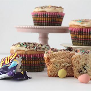 Mini Egg Explosion Cupcakes