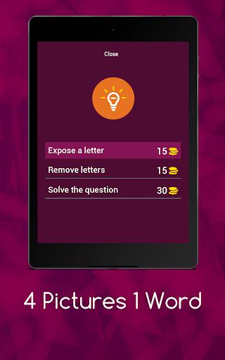 4 Pics 1 Word - Puzzle Game 3.11.5zg screenshots 17