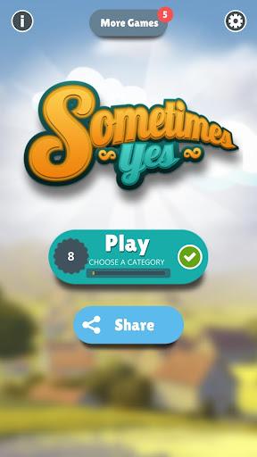 SOMETIMES YES:  100% Fun guaranteed