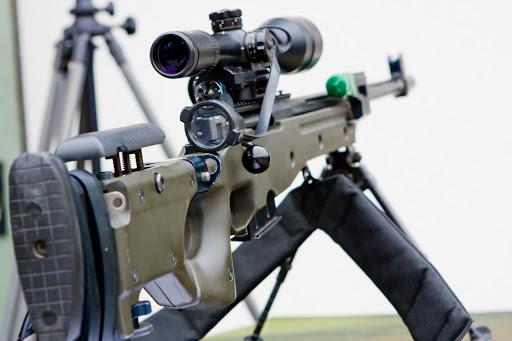 Sniper rifle. File photo