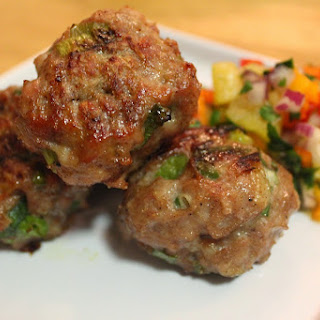 Jerk Chicken Meatballs.