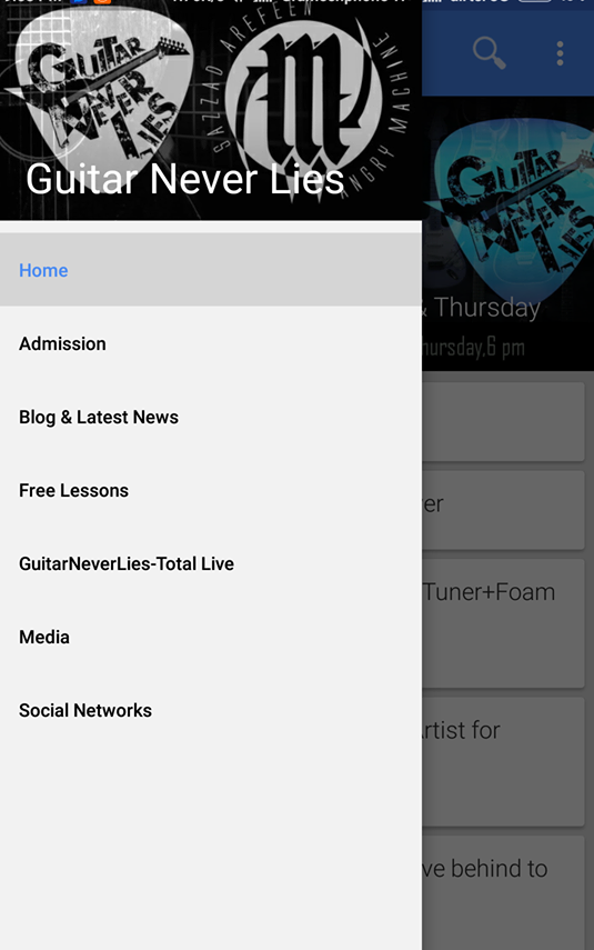 Guitar Never Lies- screenshot