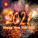 Fireworks Wallpaper Happy New Year 2021 Theme icon