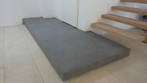 Refaite juste votre palier d'escalier en béton