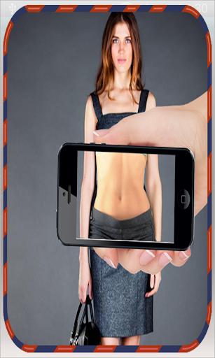 كاشف الناس بدون ملابس prank screenshot 4