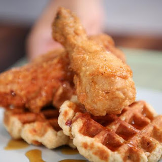 Fried Chicken and Bacon Waffles.