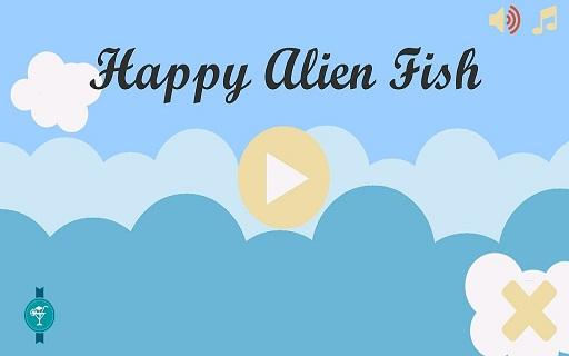 Happy Alien Fish