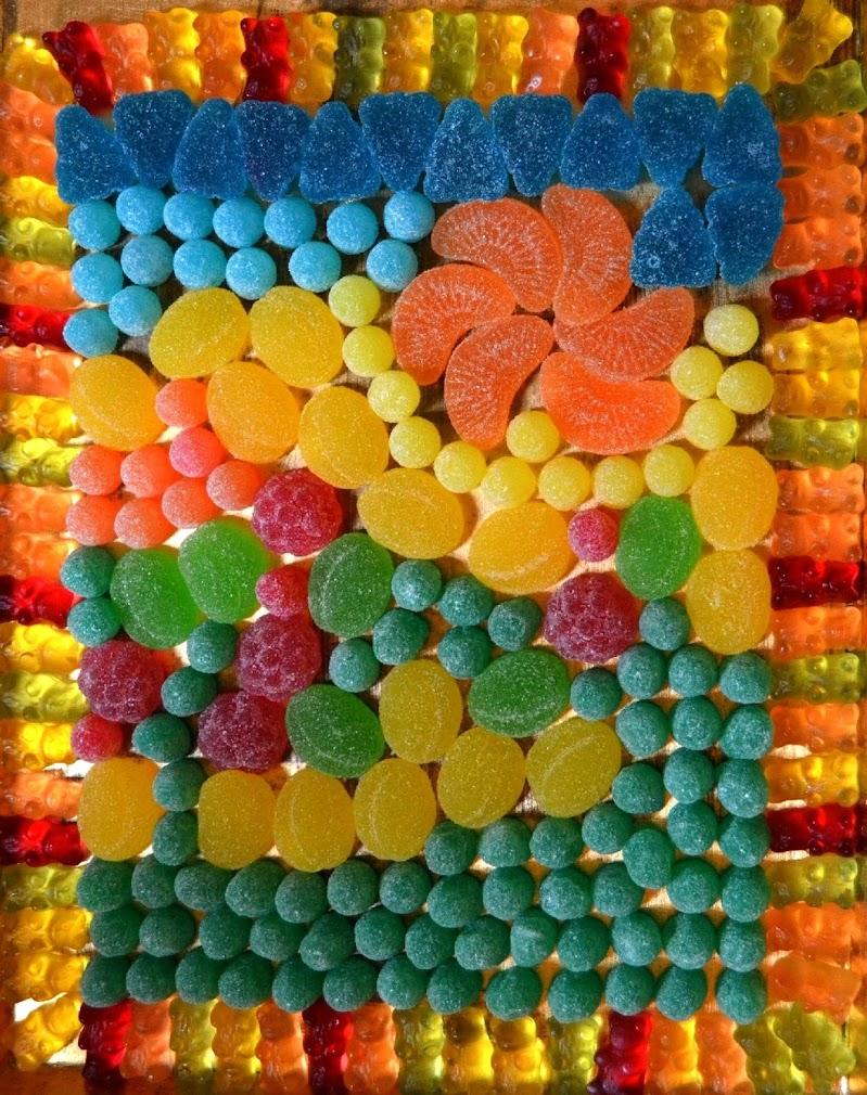 mosaico per golosi di giride