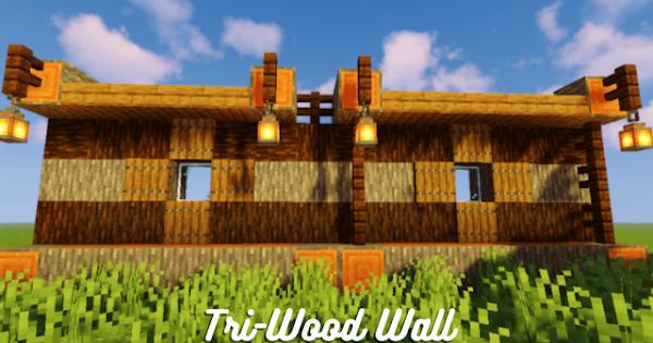 Tri-Wood Wall