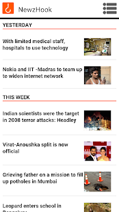 Newz Hook - Accessible News- screenshot thumbnail