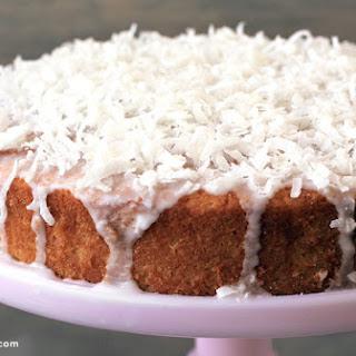Coconut Oil Cake.