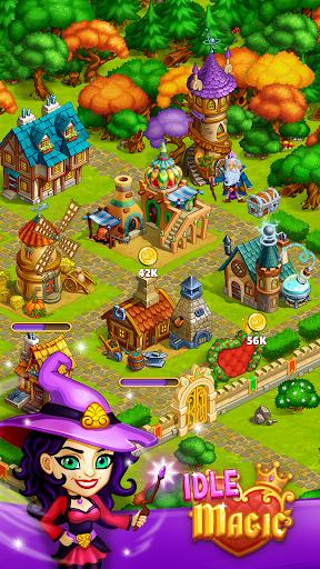 Idle Magic:Builder,Miner,Farmer at Click Away City 1.17 screenshots 6