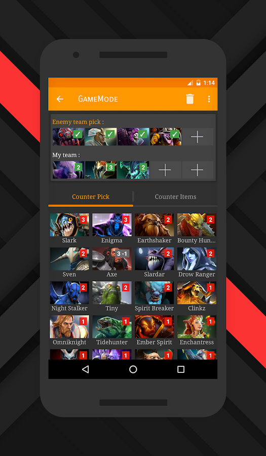 total domination counter picker for dota 2 android apps on