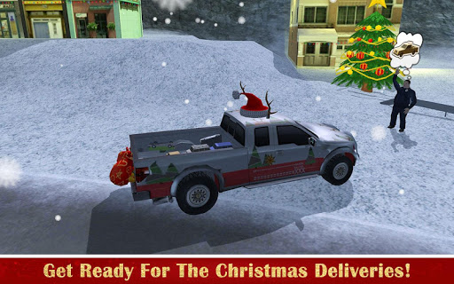 Christmas Driver: Santa Gift Delivery