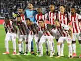 La liste européenne de l'Olympiakos: avec Carcela, Vadis, Marin et Gillet
