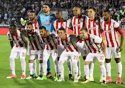 La liste européenne de l'Olympiakos: avec 4 anciens joueurs de Pro League