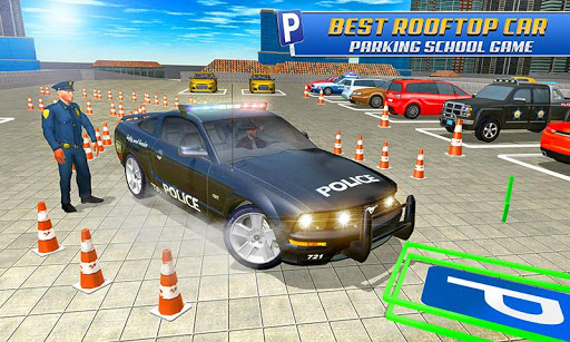 Police Car Parking: Free 3D Driving Games screenshot 8