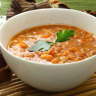 Vegetarian Lentil Chili.