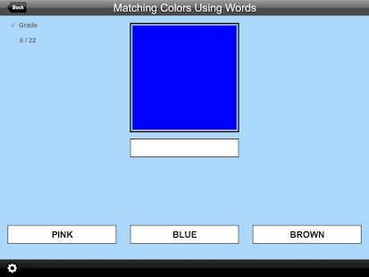 Match Colors Using Words Lite- screenshot thumbnail