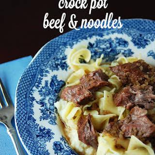 Crock Pot Beef Egg Noodles Recipes.