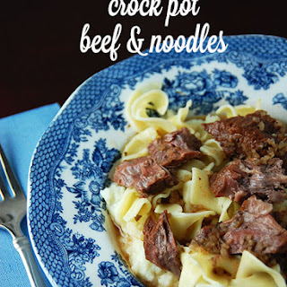 Crock Pot Beef Egg Noodles Recipes.