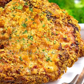 Buttered Crumb Pork Chops.