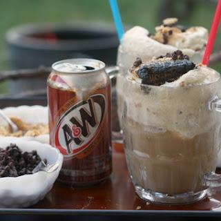 Campfire Root Beer Floats