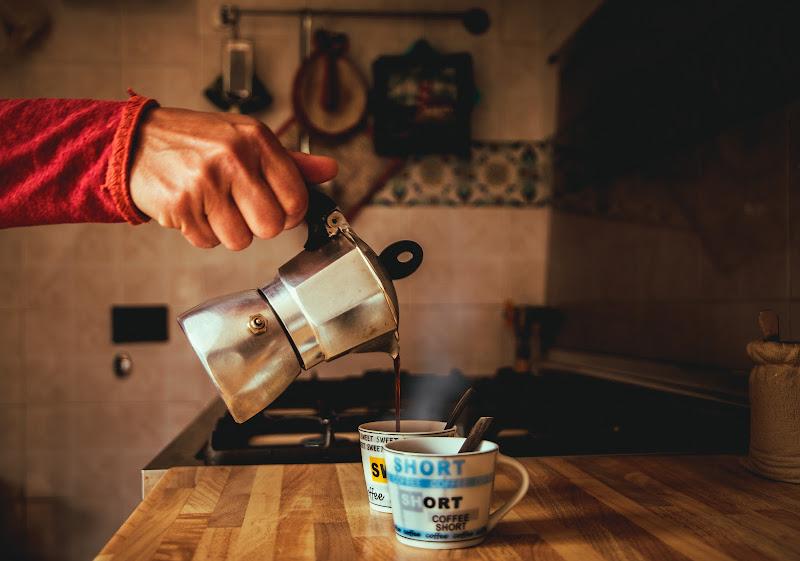 L'aroma del caffè di serikla