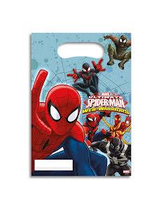 Spiderman Kalaspåsar 6st