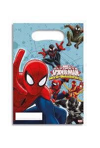 Spiderman kalaspåsar 6 st