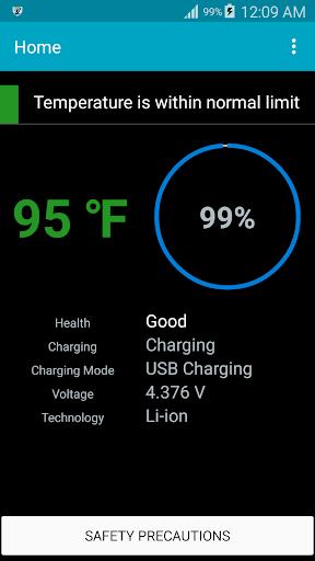 Battery Heat Safe