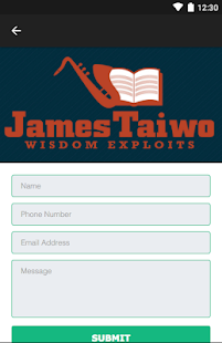 James Taiwo- screenshot thumbnail