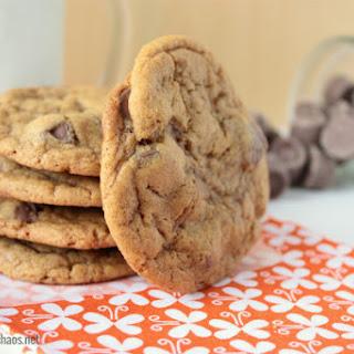 Chewy Brown Butter Pumpkin Caramel Cookies