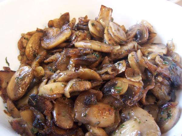 Grilled Garlic Mushrooms Recipe