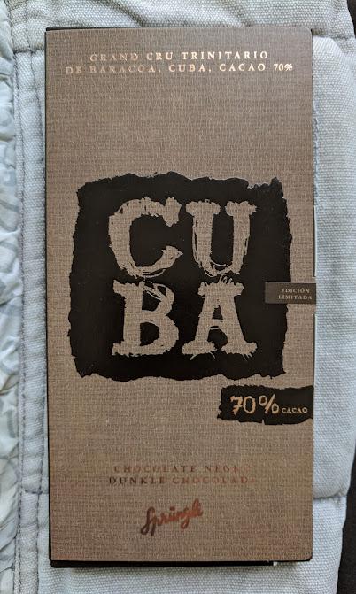 70% Cuba Sprungli Bar