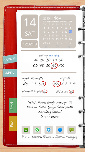 Agenda Red Theme for TL